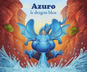 «Azuro, le dragon bleu», un album jeunesse illustré par un dijonnais