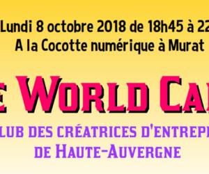 Le World Café du Club des créatrices !