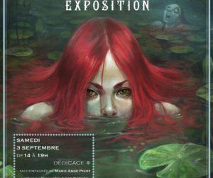 Exposition Jérémie Fleury à Ciel Rouge