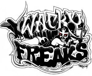 Les WACKY FREAKS : Un groupe complètement déjanté !!!