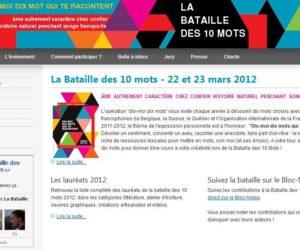 La Bataille des 10 mots : Une performance artistique internationale née à Dijon